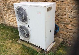Bomba de calor ventiladores profesionales pro