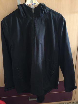 Canguro-chaqueta-sudadera negro talla L