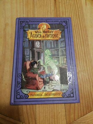 Libro Will Moogley, Agencia de Fantasmas