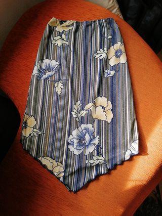 Falda midi talla M