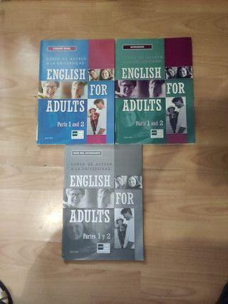 libros inglés curso acceso universidad Uned nuevos