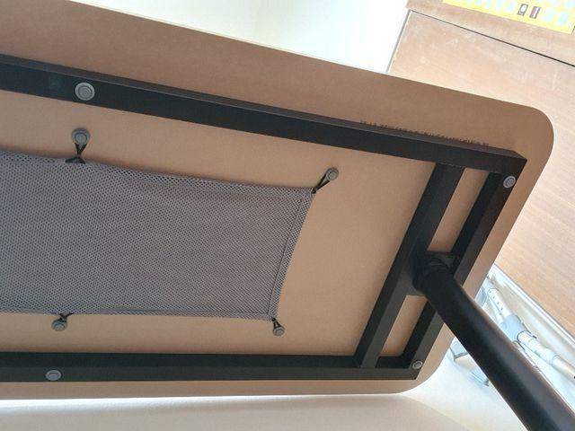 Desk 140x60cm (IKEA model Bekant oak veneer/black)