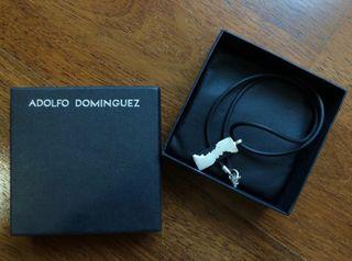 Collar Adolfo Dominguez Hombre Plata