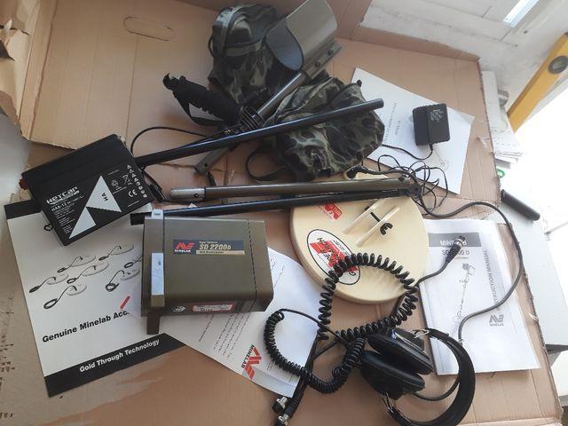 detector de metales minelab