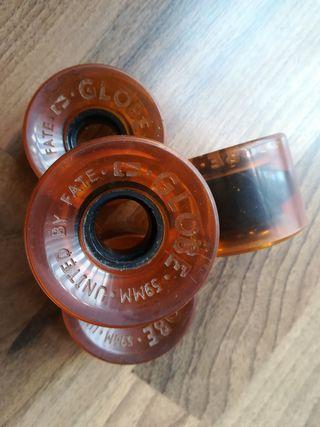 ruedas longboard Globe