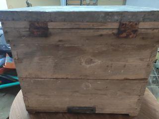 Colmena antigua de apicultura