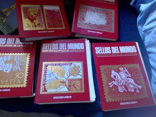 colección de sellos del mundo