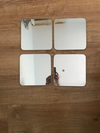 4 espejos decorativos Ikea