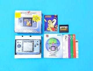 Consola Neo Geo Pocket Color + Sonic