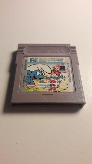 Juego Game Boy Los Pitufos