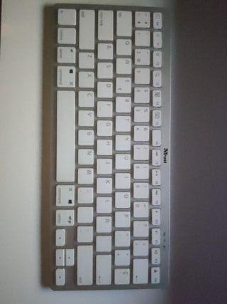 Teclado Mac, MacBook, iPad y PC bluetooth