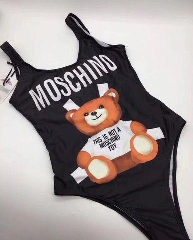 Precioso bañador body Moschino nuevo a estrenar