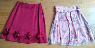 Lote de 2 faldas