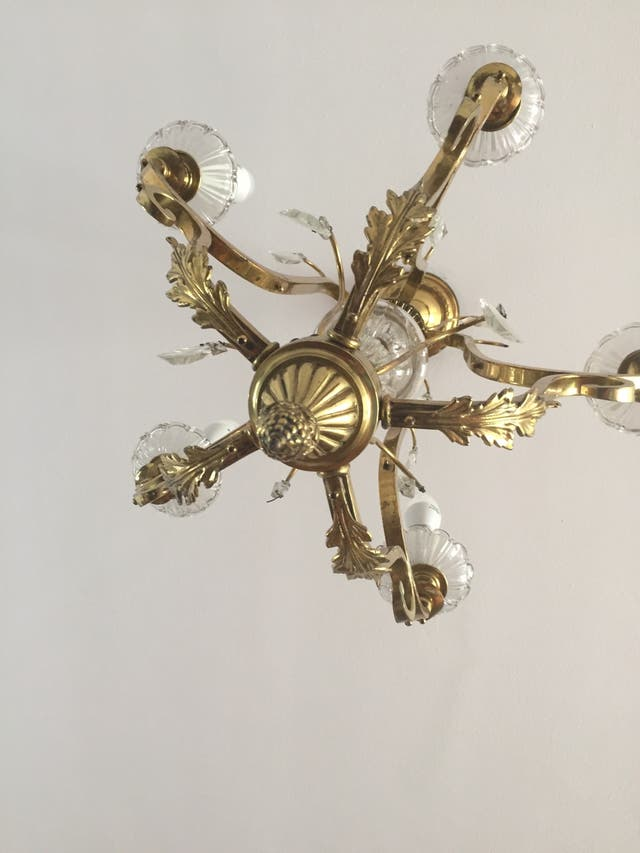 Preciosa lámpara antigua