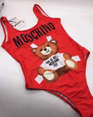 Precioso bañador body nuevo a estrenar Moschino
