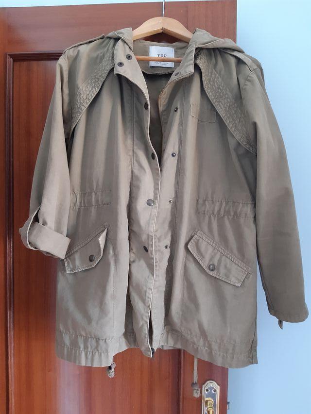 chaqueta mujer militar