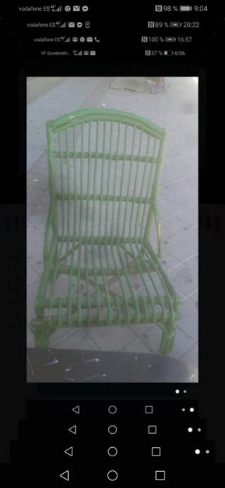 Hermosa silla verano terraza maders