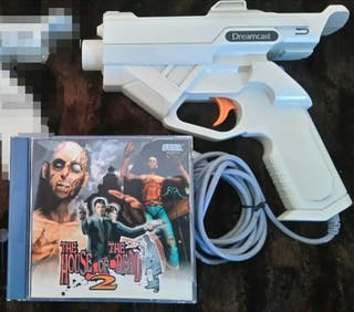Pack Pistola Dreamcast + The House of the Dead 2