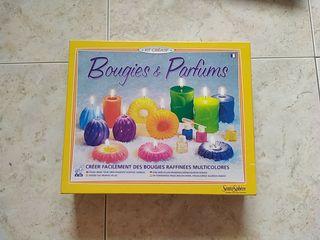 Juego diseñar tus propias velas aromáticas