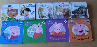 Lote libros cartón cuentos infantiles