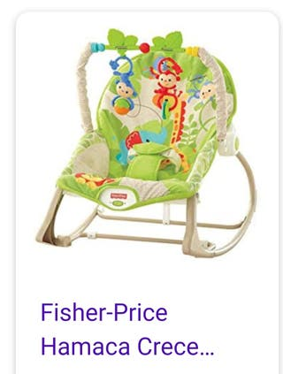 Hamaca bebé fisher price