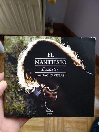 Nacho Vegas El manifiesto desastre CD