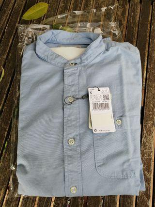 Camisa de manga larga de Mango, nueva con etiqueta