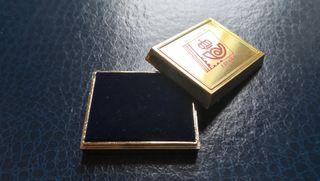 Caja Pin sellos Expo y Barcelona 92