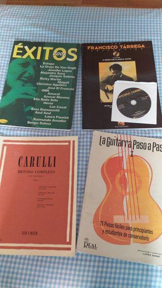 4x Lote libros Guitarra