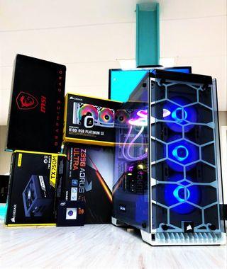Ordenador Gaming 2K y 4K I9-900K y 2080ti 11GB