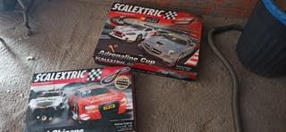 2 Scalextric completos