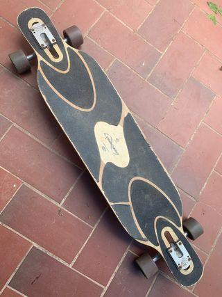 Longboard patinete