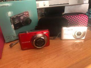 Cámaras de Foto Casio y Fujifilm