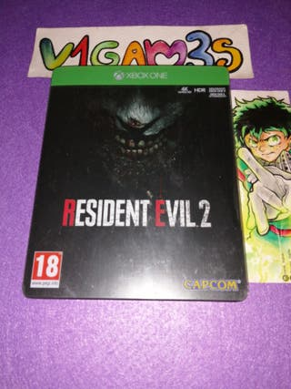 Resident evil 2 Xbox One Español Steelbook edition