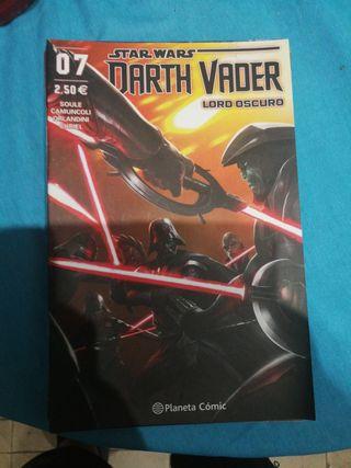 Star wars Darth Vader. Lord Oscuro. 7, 13, 15.