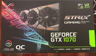 Nvidia Asus ROG Strix GTX 1070 OC 8GB GDDR5