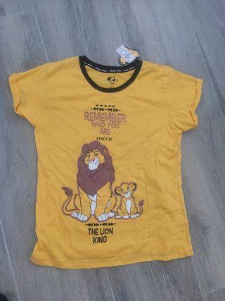 camiseta pijama rey León