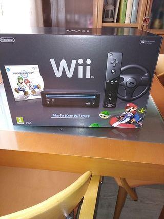 consola Nintendo wii Mario kart Pack nueva
