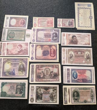 Billetes Pesetas Emitidas por la FNMT