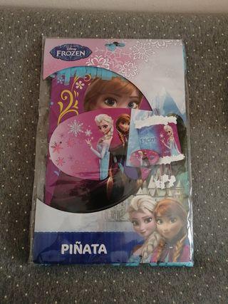 Piñata cumpleaños frozen