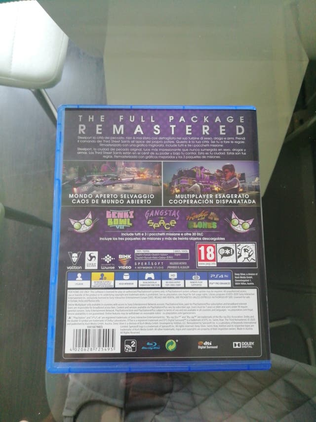 saints row remastered y justo cause 4 ps4