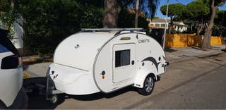 Caravana mini remolque