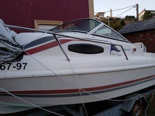 Embarcación fueraborda Lema Sabinal