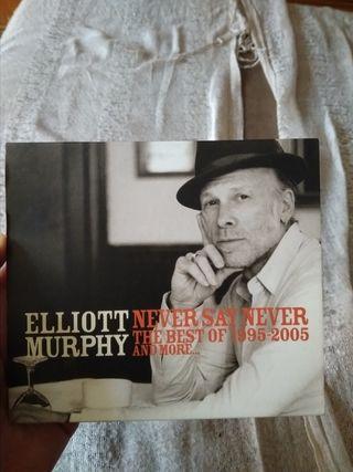 Elliot Murphy Never say The best of Never CD DVD