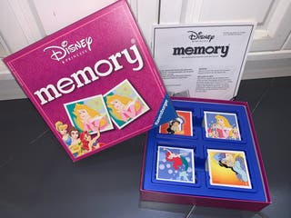 Juego Cartas Memory Disney