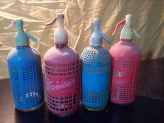 botellas sifón