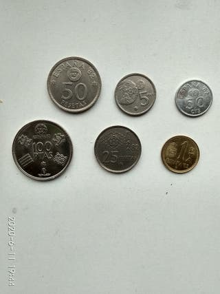 colección de monedas conmemorativas