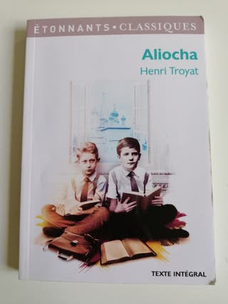 Livre Aliocha neuf