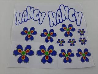 pegatinas para armario de la muñeca nancy