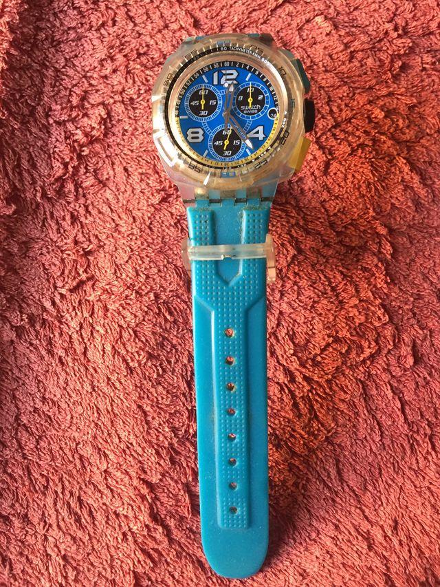 Reloj Suizo SWATCH Cronógrafo de Cuarzo